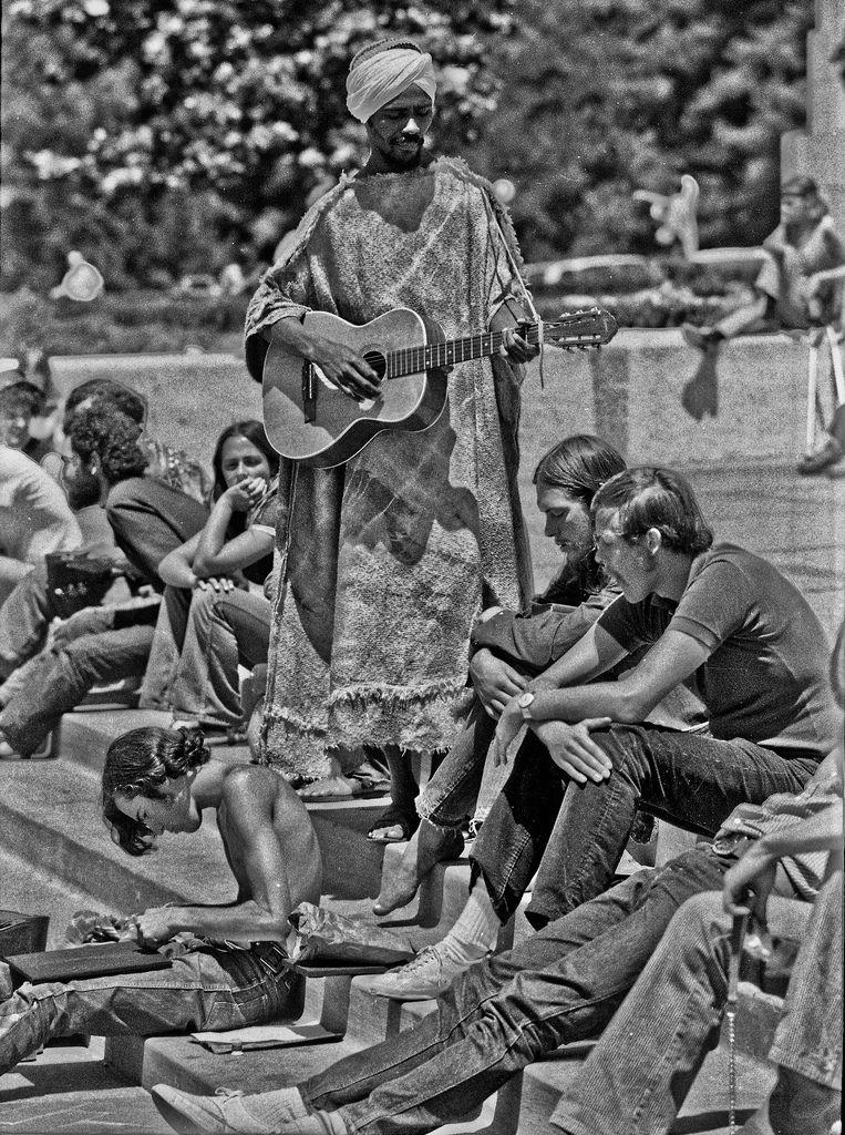 Berkeley campus, 1970 | Retronaut