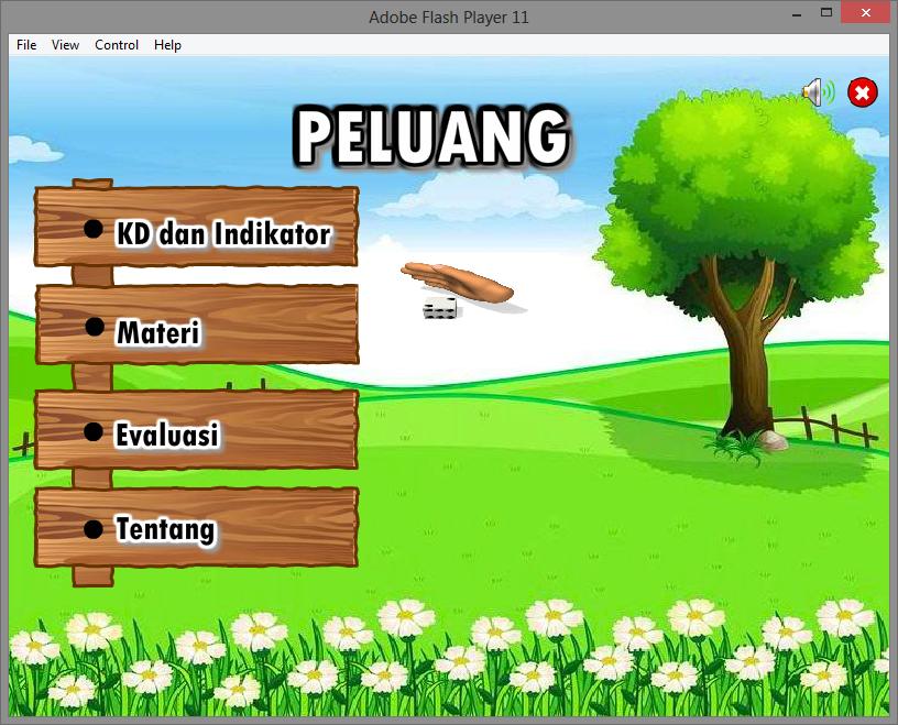 Contoh Aplikasi Multimedia Pembelajaran Interaktif Matematika Tentang Peluang Game Edukasi Flash Multimedia