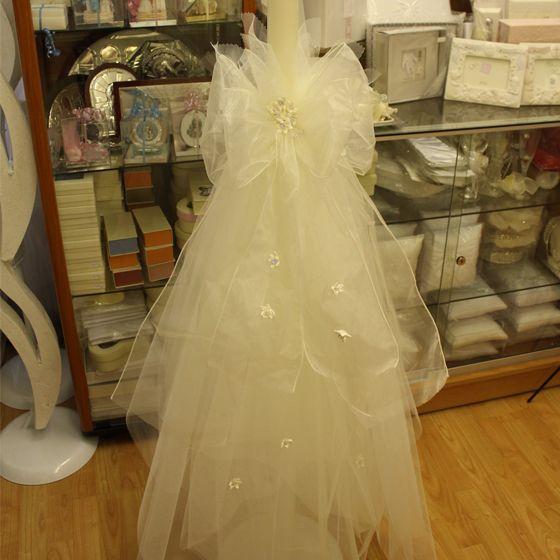 Greek Wedding Altar: Wedding Lambades / Candles