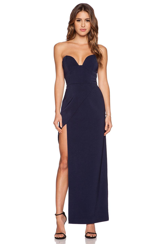 Long navy dress for wedding  Minty Meets Munt Lolita Maxi Dress in Navy  Dresses  Pinterest
