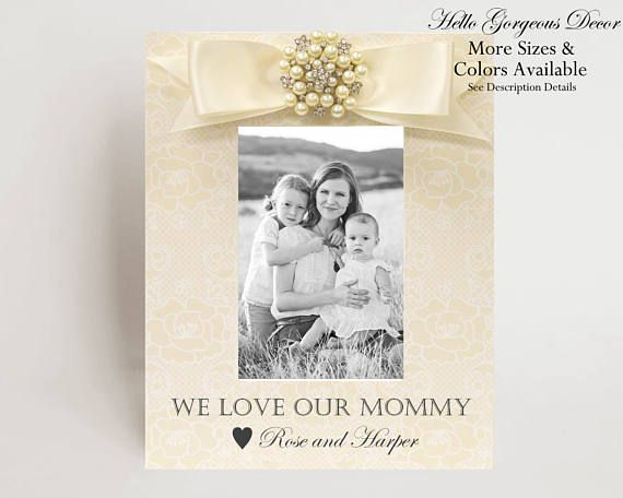 Mom Mother\'s Day Gift from Children Kids Mother\'s Day Picture Frame ...