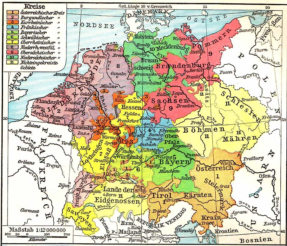 Map Of Germany 30 Years War.Map Of Germany 30 Years War Twitterleesclub