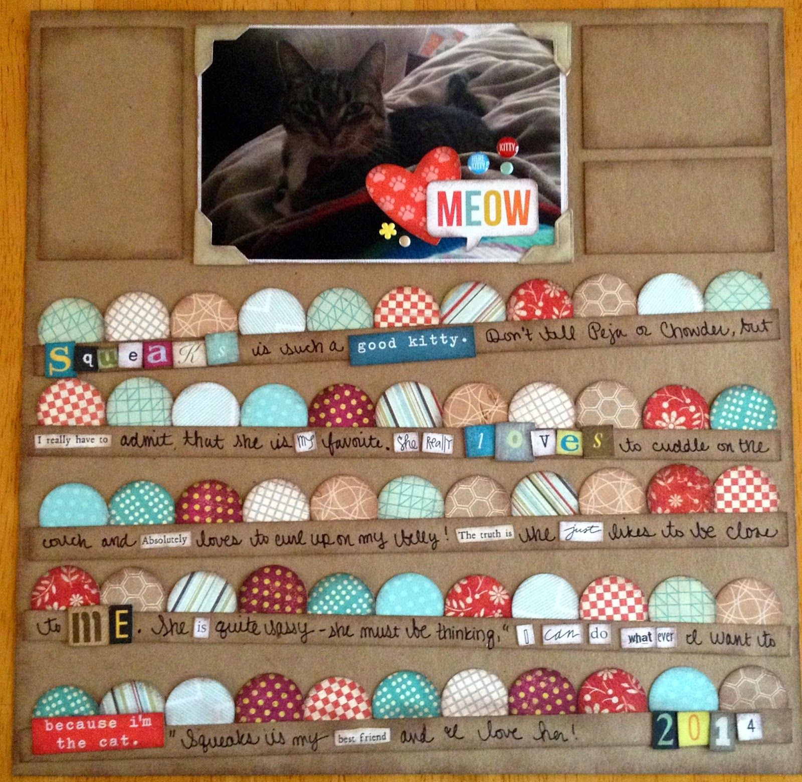 Creations By Laura: Cards & Creations By Laura: Scrapbook Page