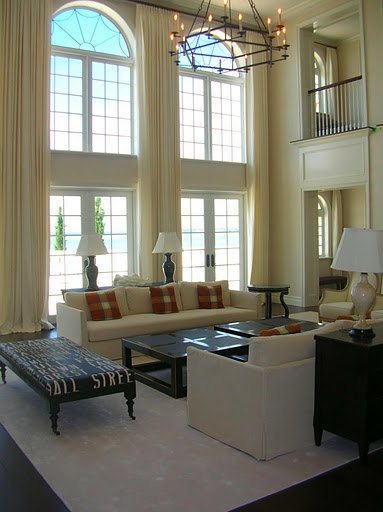 Extra Long Curtains Panels For High Windows Loft Draperytreatment