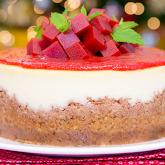 Cheesecake romeu e julieta