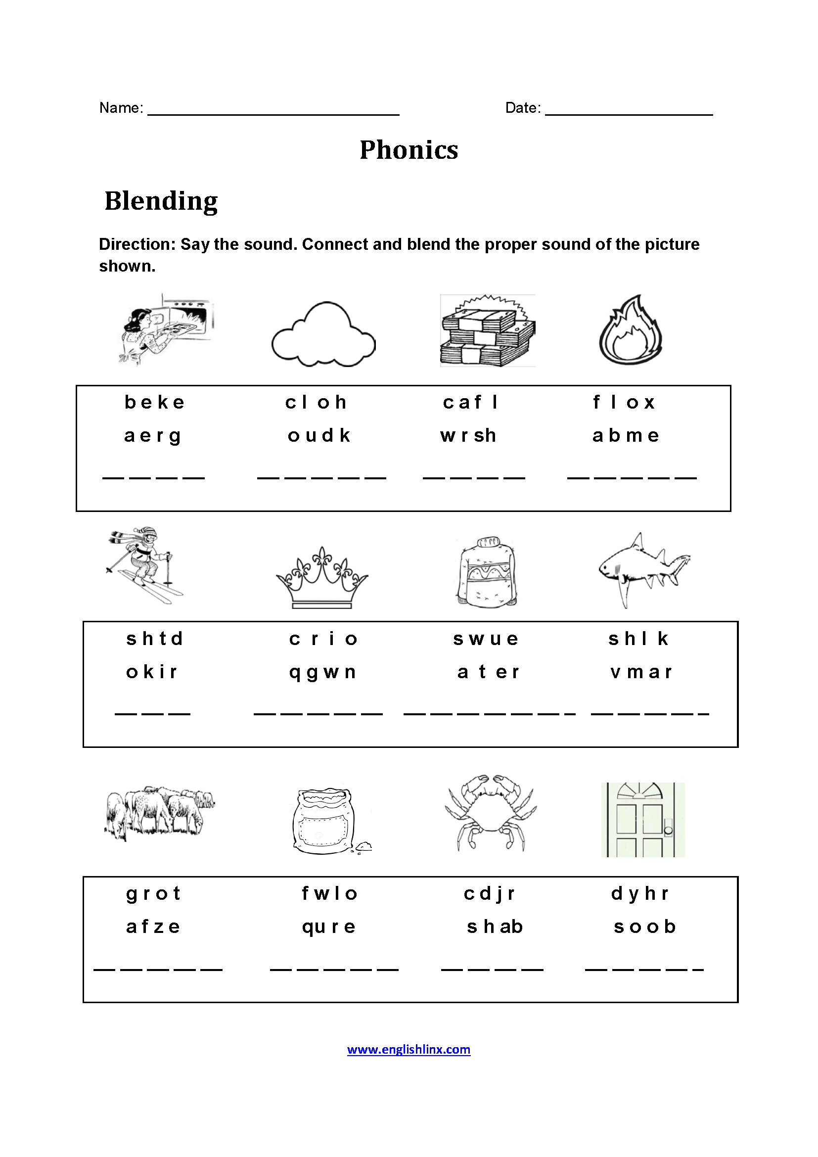 Sound Substitution Worksheet