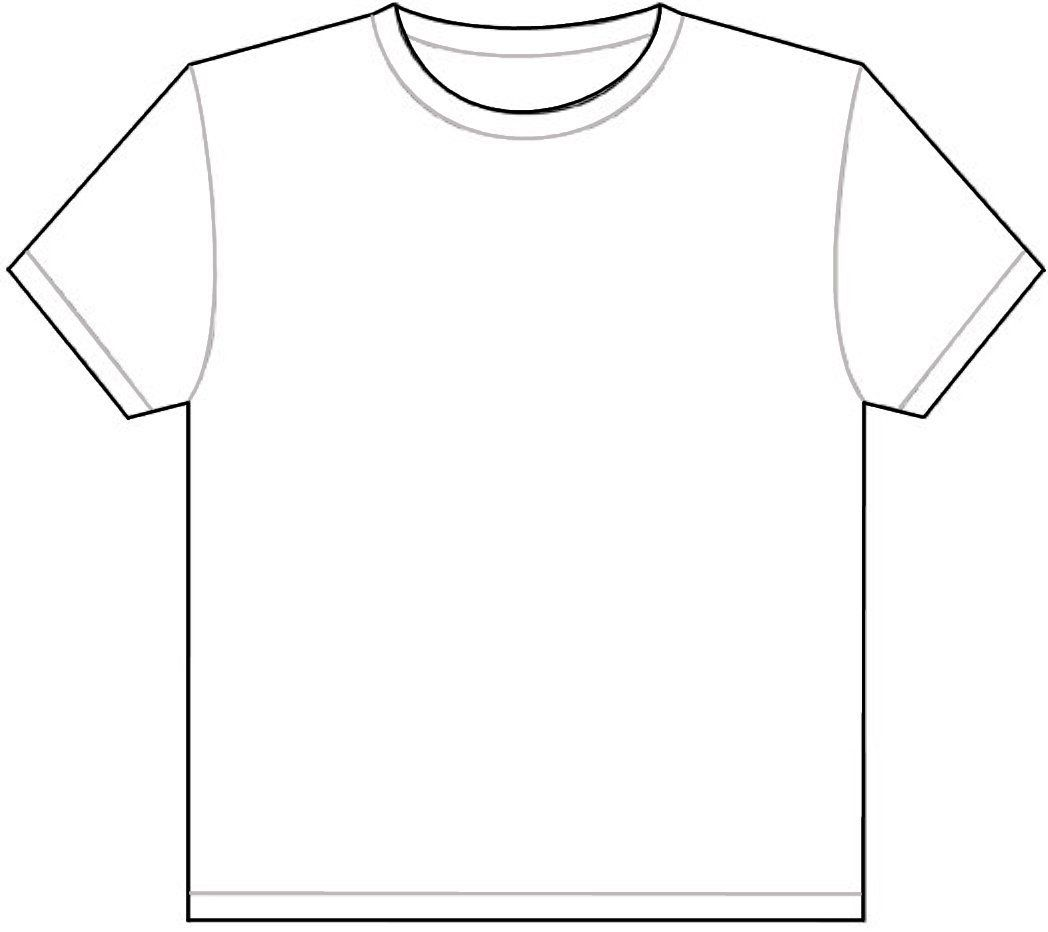 Printable TShirt Template Tee Shirt Pinterest Outlines - T shirt print out template
