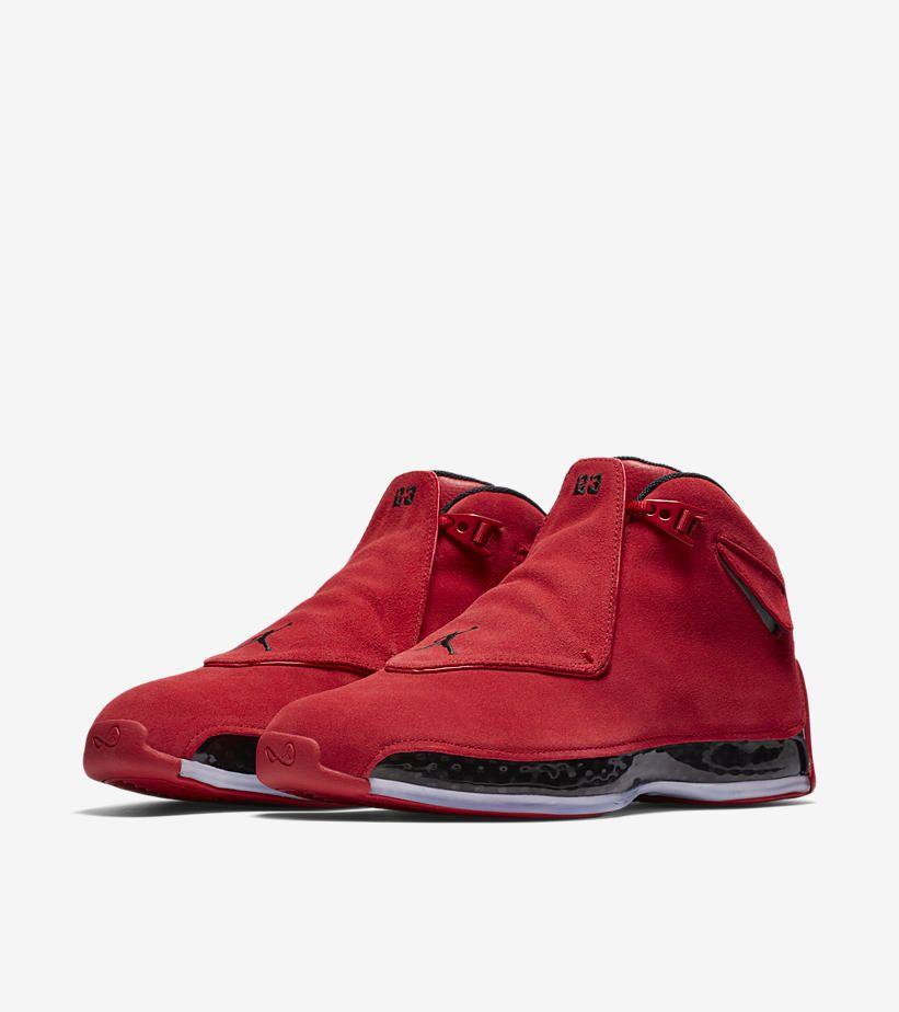 Air Jordan 18 'Gym Red \u0026 Black' Release