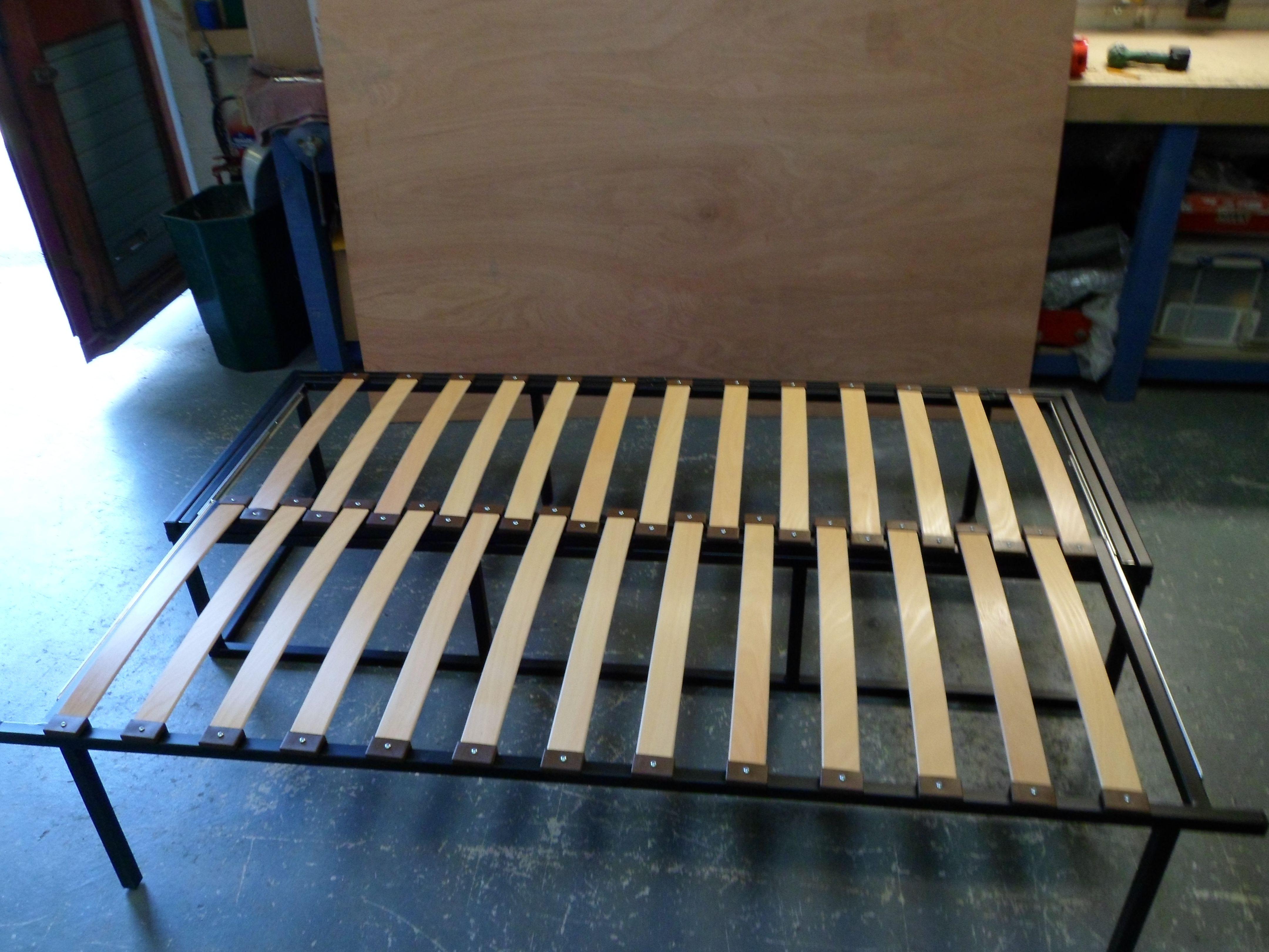 Image result for campervan pull out bunks Camper beds