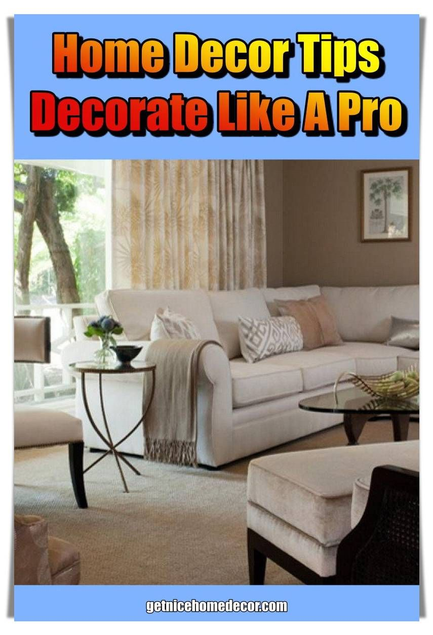 Interior design tips · home goods · plan a place to put any debris from your project it can be expensive to