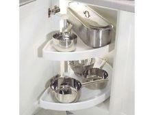 Best Details About 3 4 Kitchen Corner Carousel Storage Unit 400 x 300