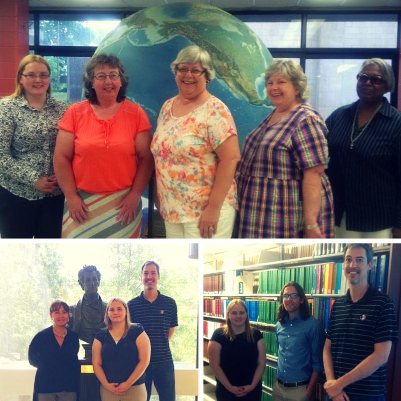 GPO's Ben Webb and Jaime Huaman visit Federal depository libraries across New York State.