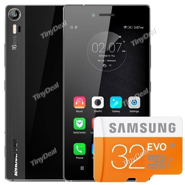 """LENOVO VIBE SHOT Z90-7 5"""" FHD MSM8939 Octa-core Android 5.0 4G LTE Phone  SAMSUNG 32GB TF Card"""