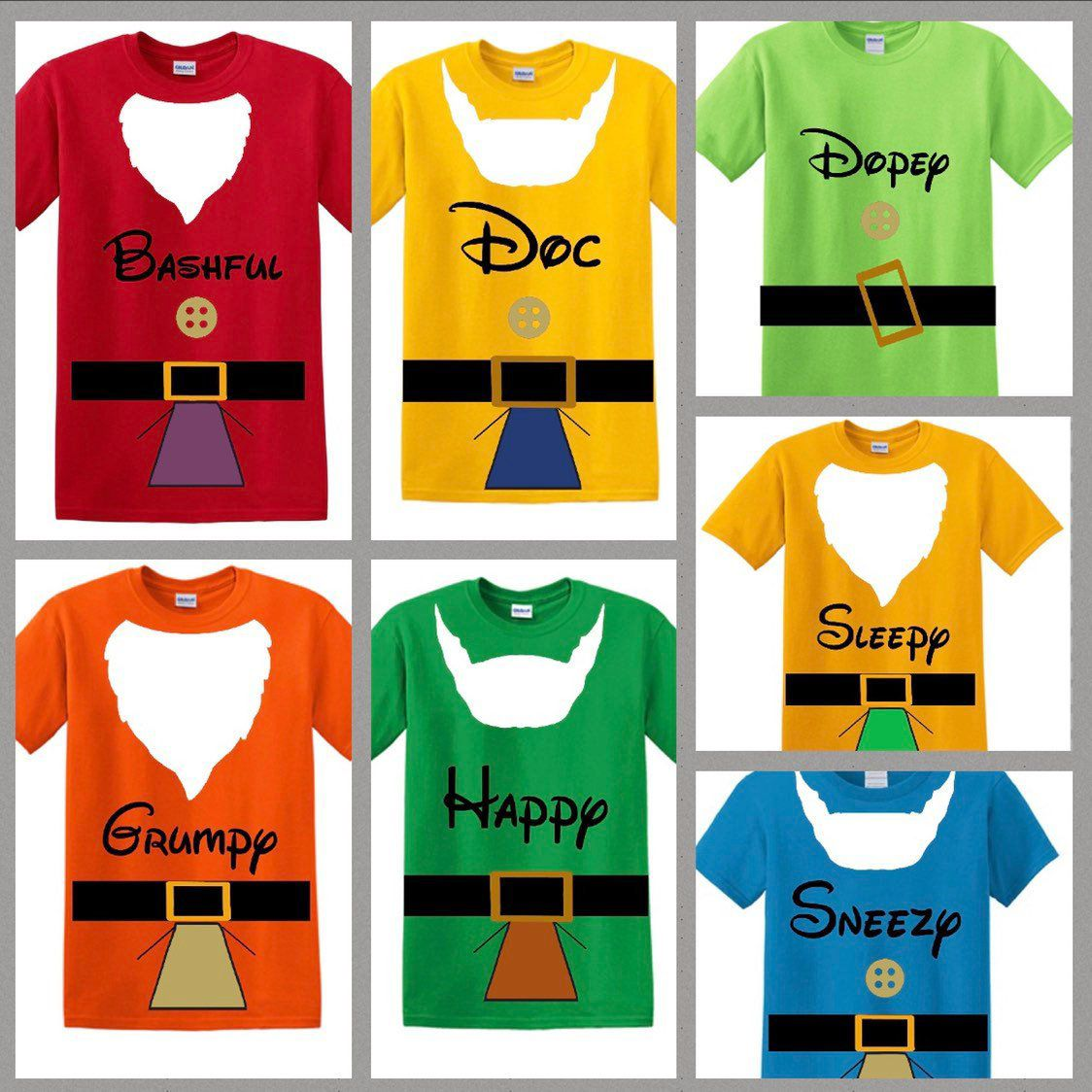 448a5af1 7 Dwarf Shirts, 7 Dwarfs Shirts, 7 Dwarf Family Shirts, Snow White and