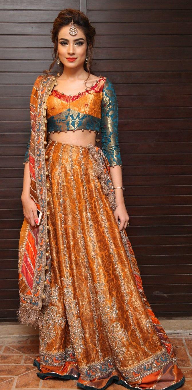 Alyzeh Gabol | Recherché Closet | Bridal mehndi dresses