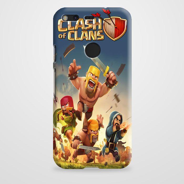 Clash Of Clans Battle Google Pixel Case | casefantasy