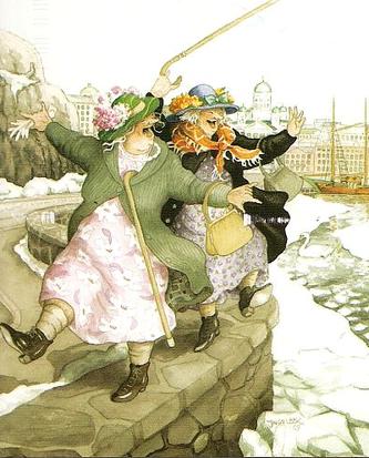 Vanhat rouvat Helsingissä (IL) - Perromania - pieni postikorttikauppa - Tuotteet