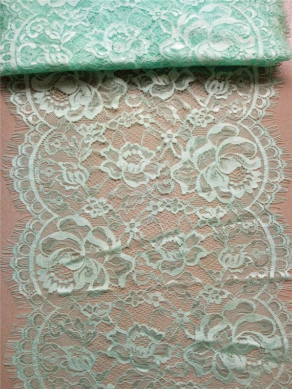 Mint Lace Table Runner 12 Mint Green Table Runners Wedding