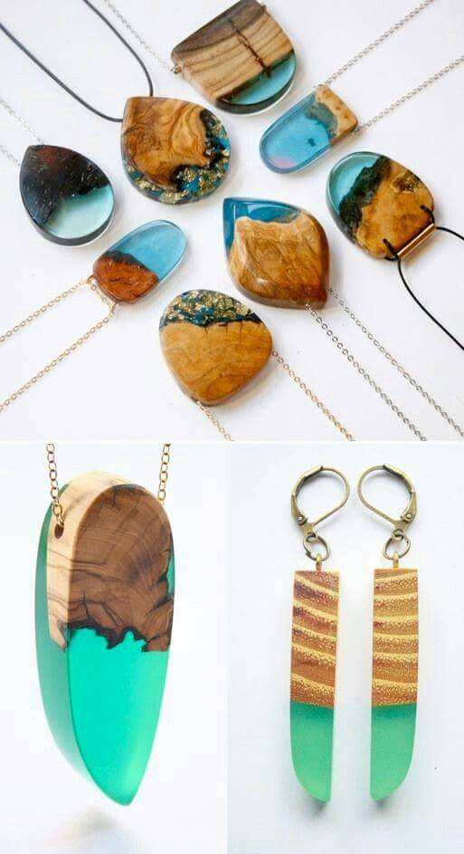 Pin by Ms_J on Jewelry | Resin jewelry, Resin art, Resin crafts