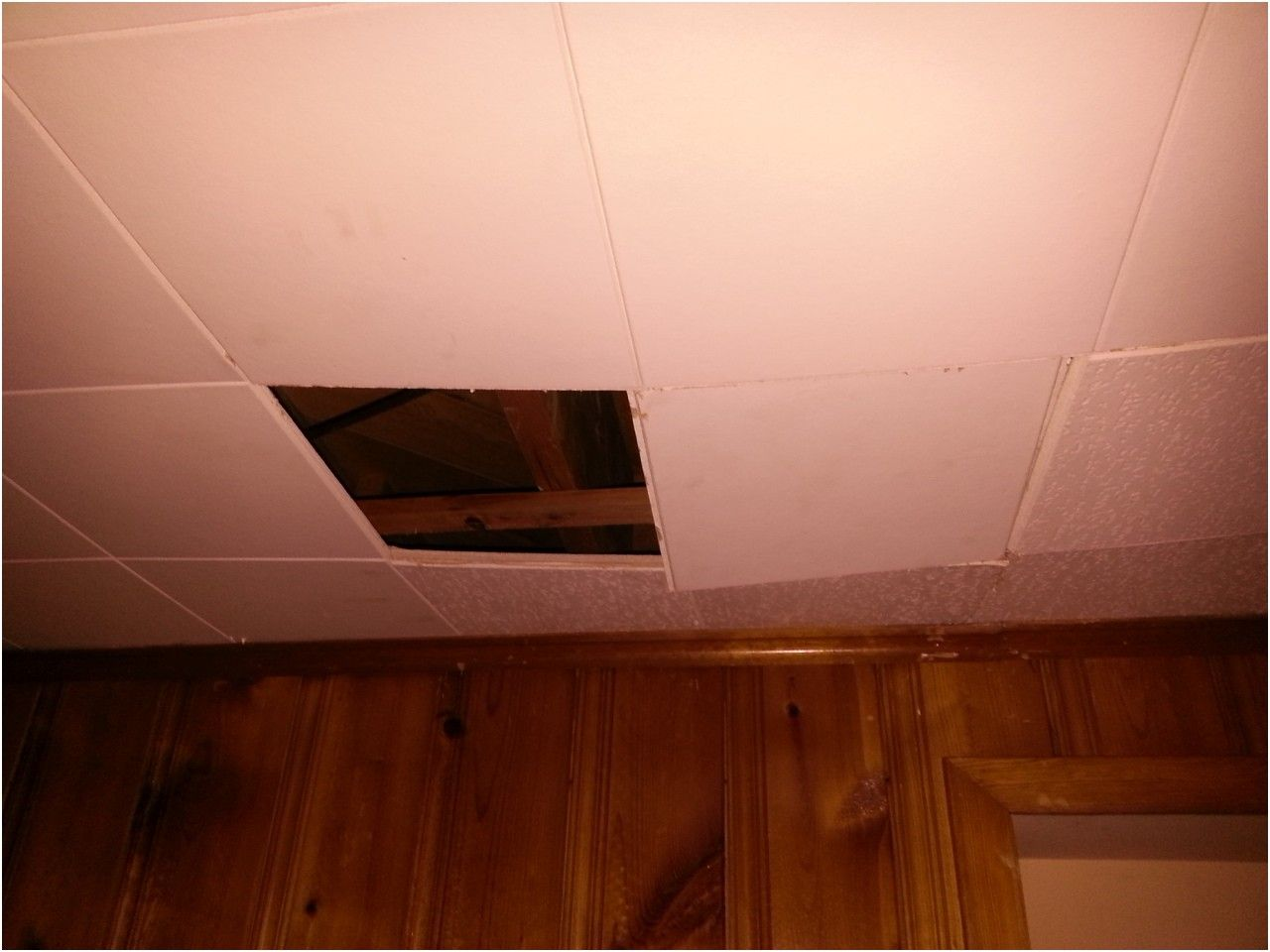 Fantastisch How To Repair A Basement Ceiling S Old School Interlocking Tiles From  Ceiling Systems For Basements