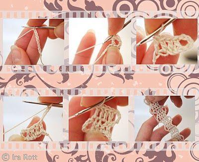 Bruges lace instructions