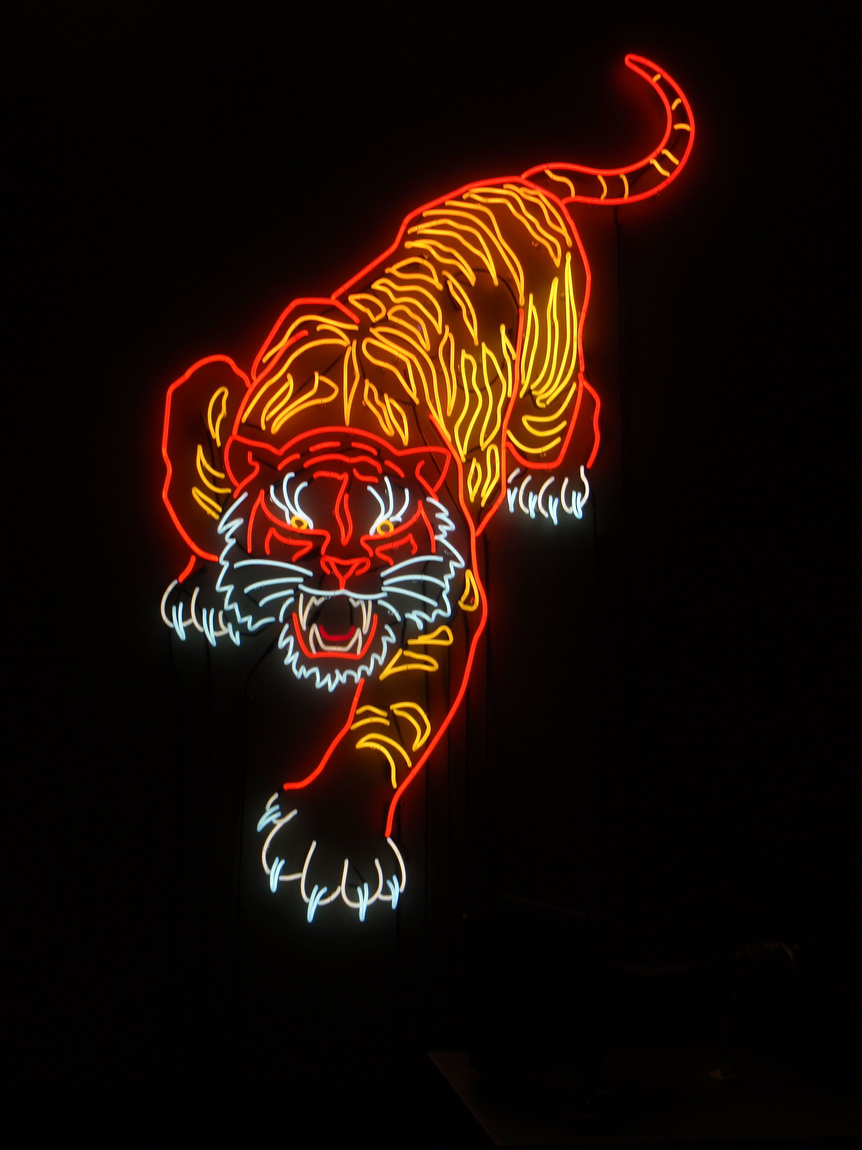 Neon Tiger (sold)