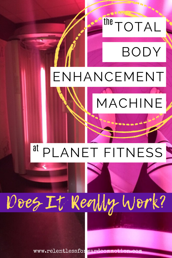 Total Body Enhancement At Planet Fitness Does It Actually Work My Review Results Planet Fitness Workout Total Body Red Light Therapy