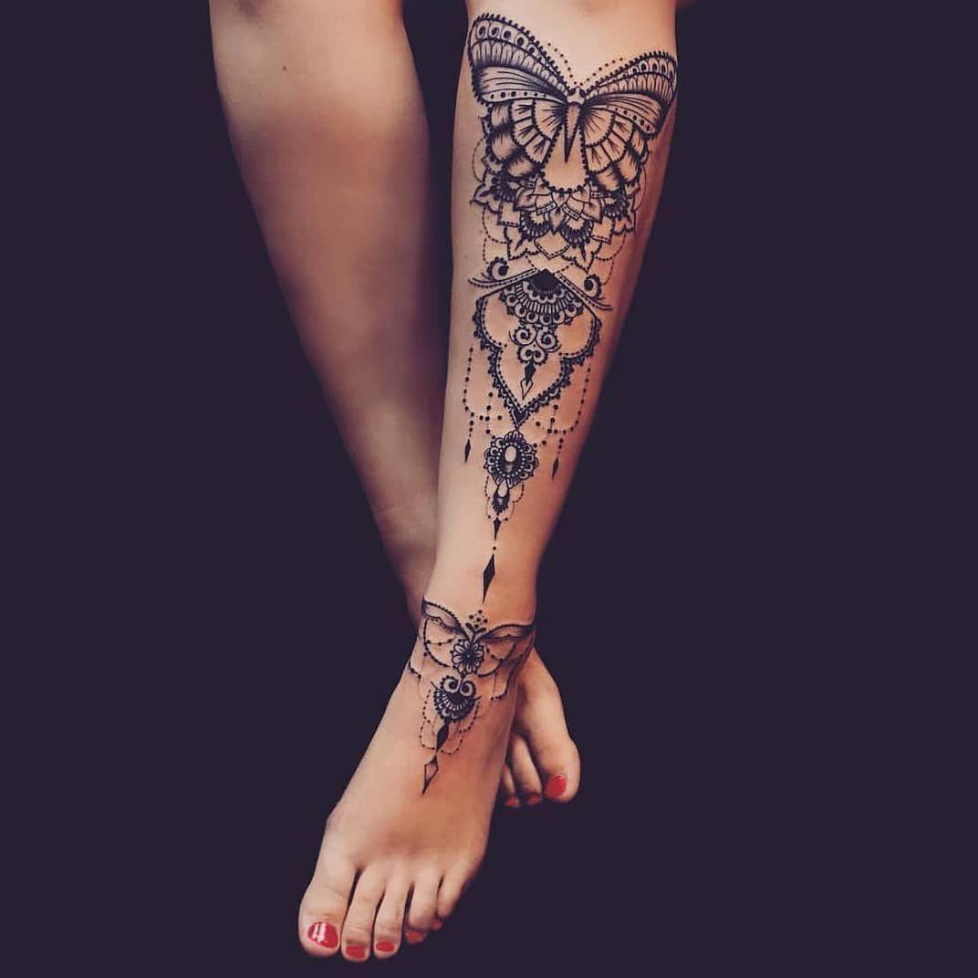 Tattoo Designs For Women Back Legs