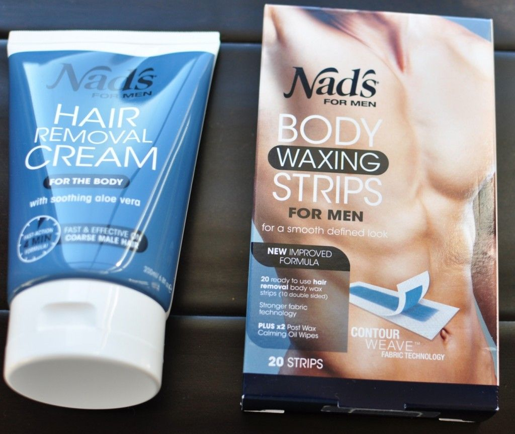 Win nadus hair removal cream and body waxing strips for men beauty