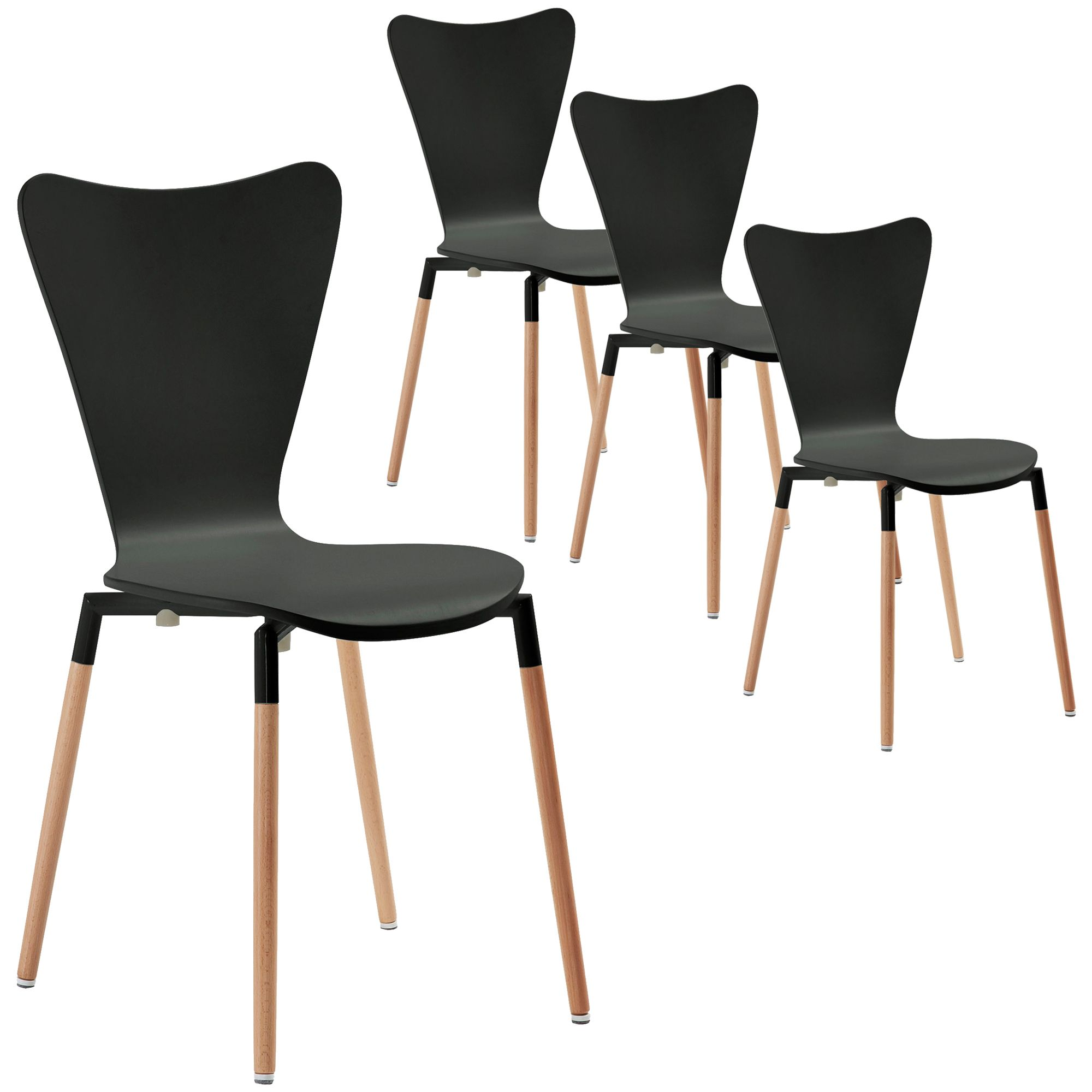 Modern Piper Dining Chairs Temple Webster 299 For Set Of 4