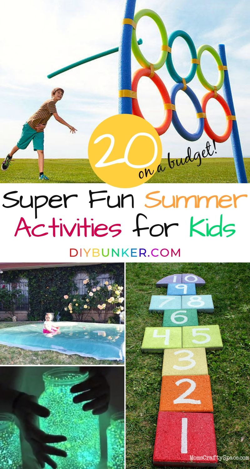 Summer Activities for Kids on a Budget That They'll LOVE - Summer activities for kids, Summer fun for kids, Fun summer activities, Summer activities, Outdoor activities for kids, Business for kids - If you're on the hunt for summer activities for kids on a budget, you NEED this list! Find out the best ways to stay busy during hot weather