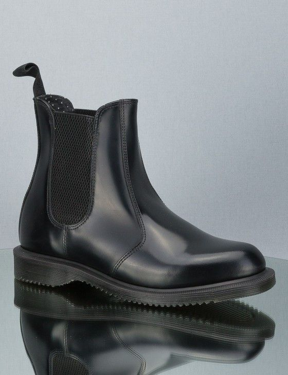 1507c7b379ae3b Dr. Martens FLORA 14649001 Boot BLACK SMOOTH online