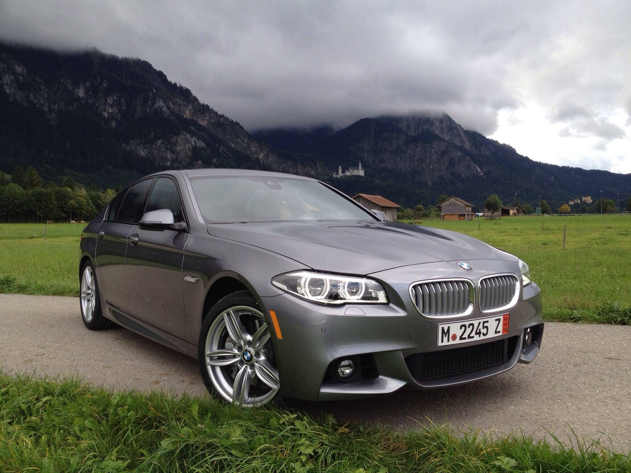 2014 550i xdrive msport space grey with mocha anthracite interior