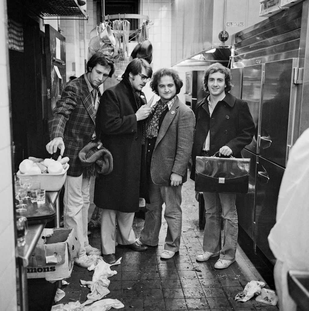 Calm And Cool In Chevy Chase In 2019: Chevy Chase, Dan Aykroyd, John Belushi And Lorne Michaels