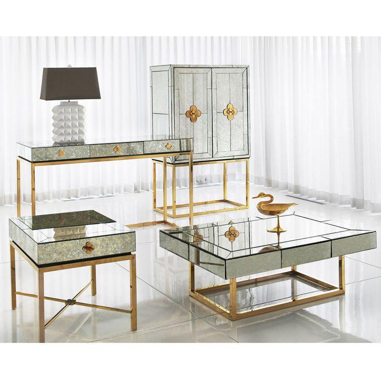 Charade studded table lamp jonathan adler charade studded table lamp aloadofball Gallery