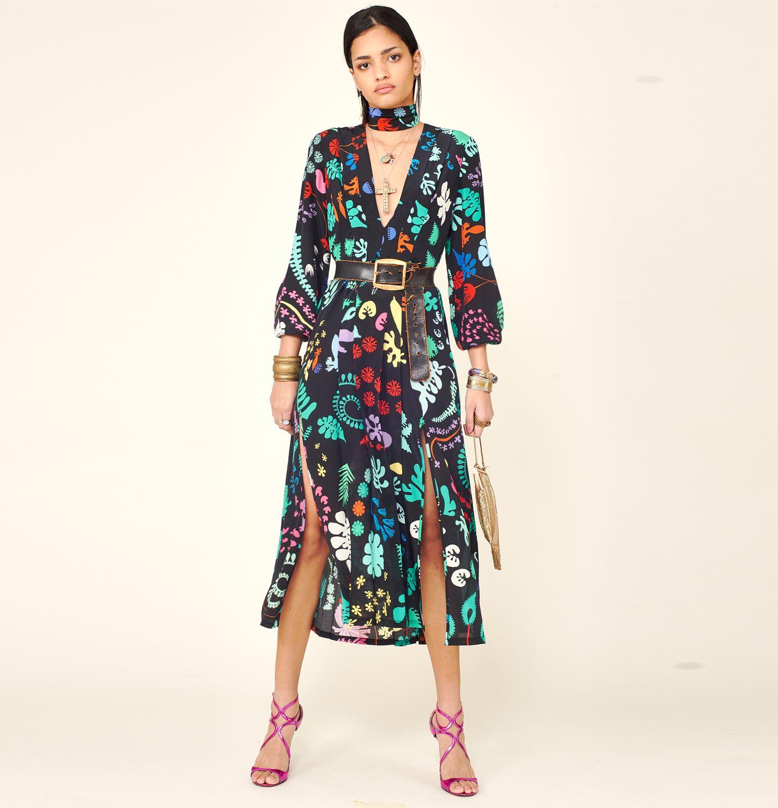 CAMELLIA DRESS - RIXO