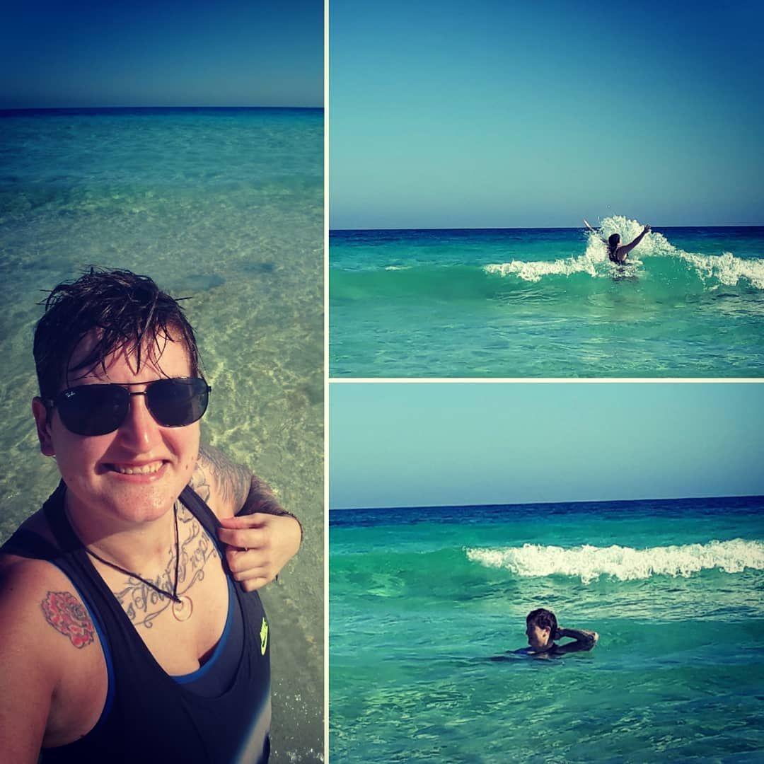 Swam with some fish today?☀️ #fuerteventura #corralejo #canaryislands #ho…
