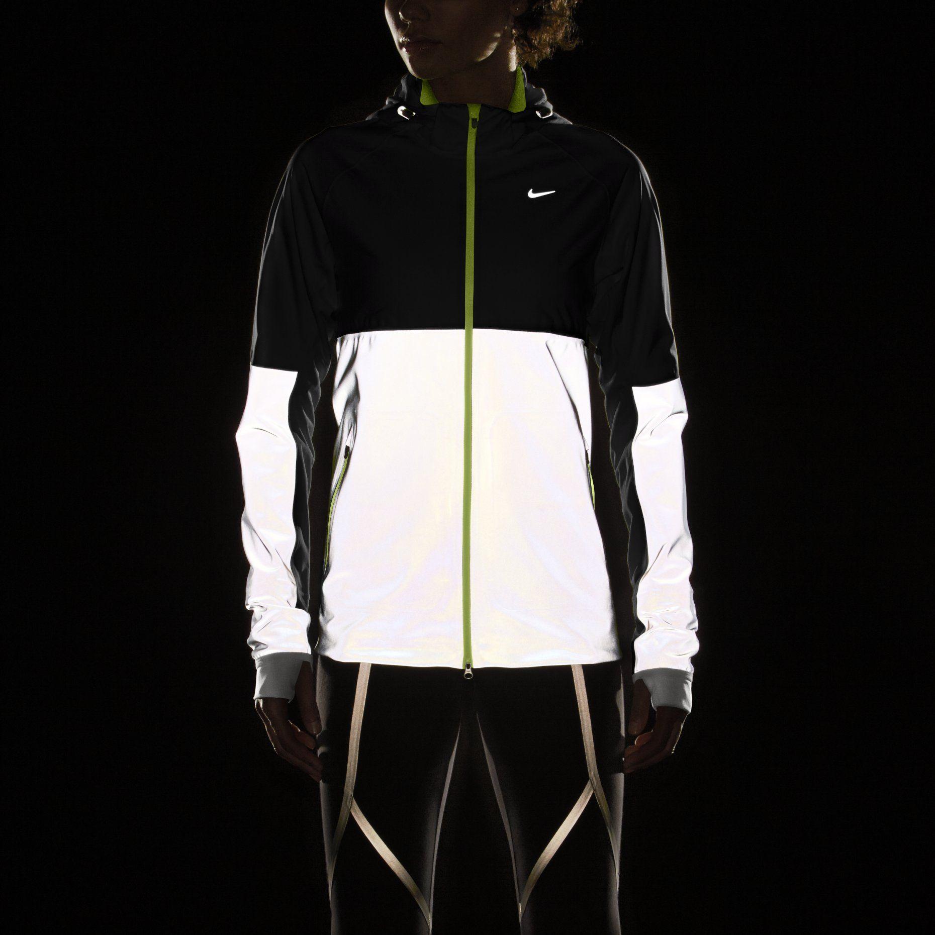 Sweat Nike Ignite Midlayer Squad 15 Noir u0026 Jaune Fluo Noir veste nike  fluo cc315be1ed4b