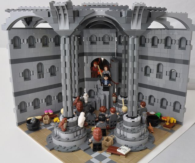 Room Of Requirement Hideout Mode Lego Harry Potter Moc Lego