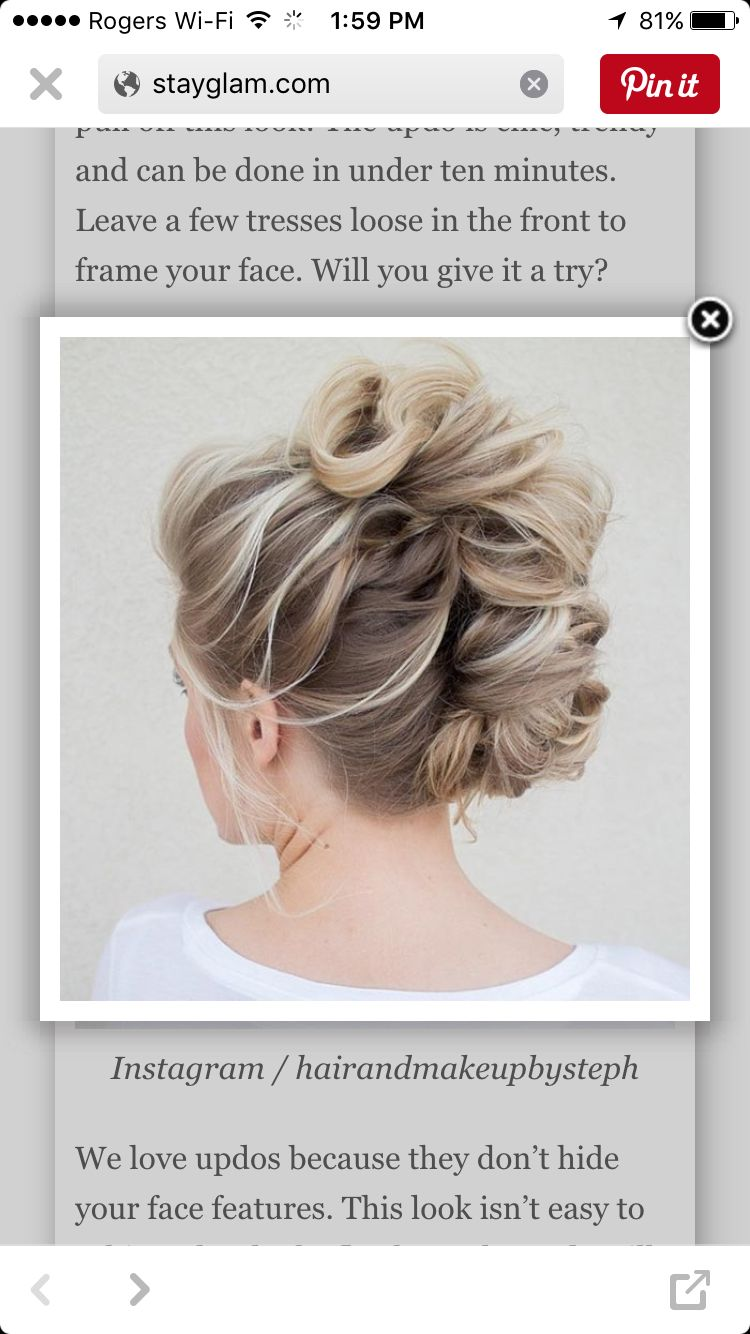 Messy mohawk updo pretty pinterest mohawk updo mohawks and updo