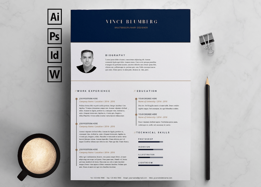 65 Free Resume Templates for Microsoft Word [Best of 2021