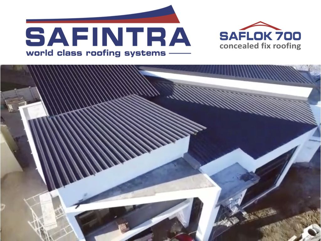 Completed Residential Project Free State South Africa La Kopa Huis Saflok410 Safintrasouthafrica Thesafalgroup Safin Roofing Systems Roofing Metal Roof