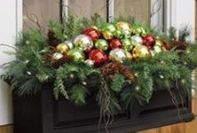 christmas window boxes - Google Search