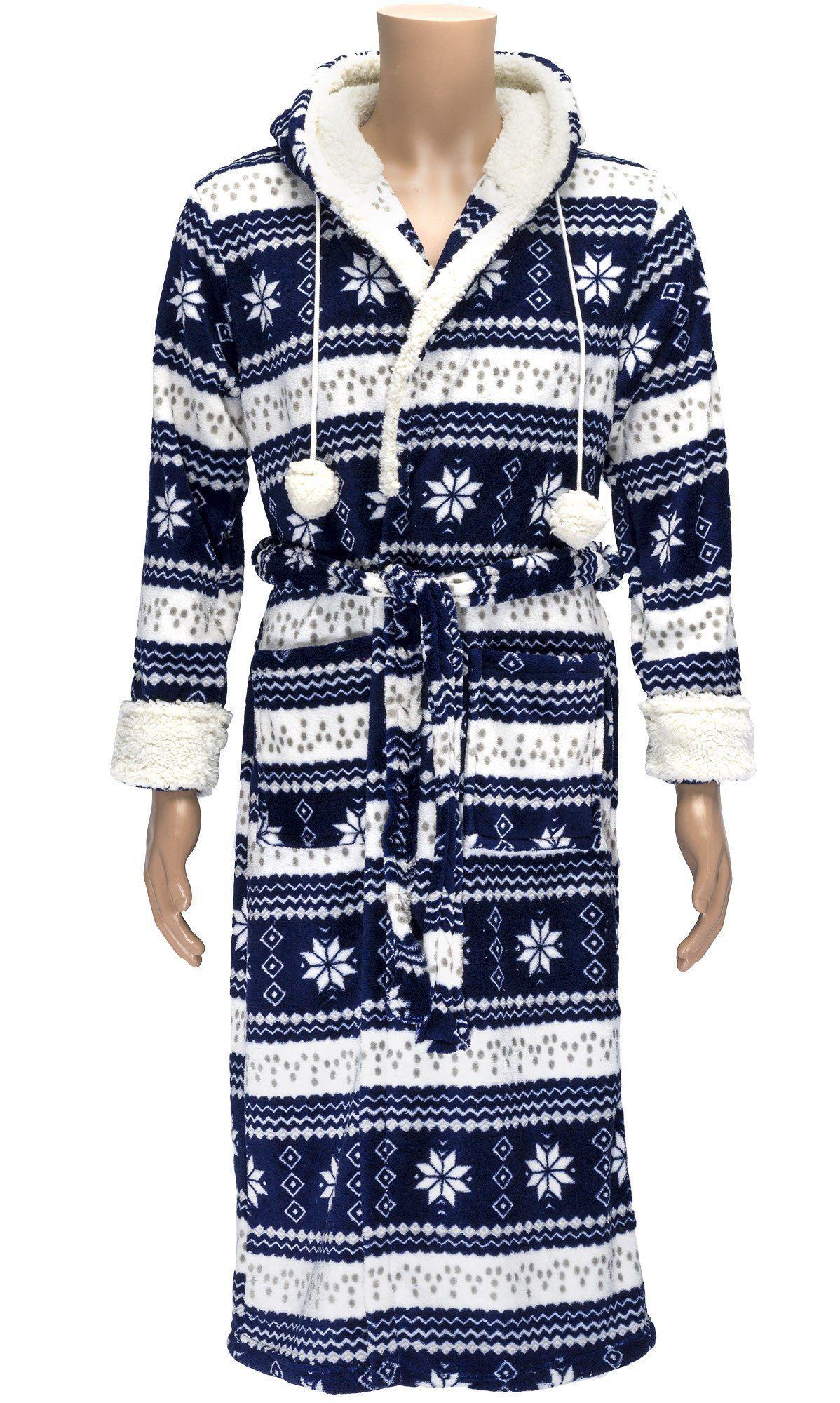 Romanta Nordic Fleece Robe With Belt  7bc85fd28