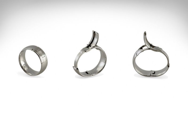 Expanding Custom Fit Rings Silver Wedding Bands Wedding Rings