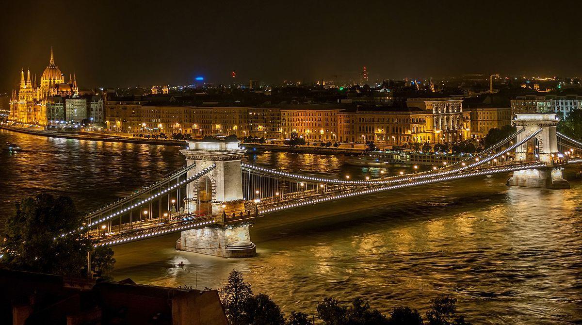 Puente De Las Cadenas Budapest Budapest Things To Do In Countries To Visit Budapest Travel