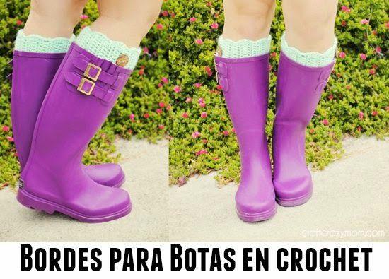 Bordes para botas, (los llaman puños pero aquí en España puños ...