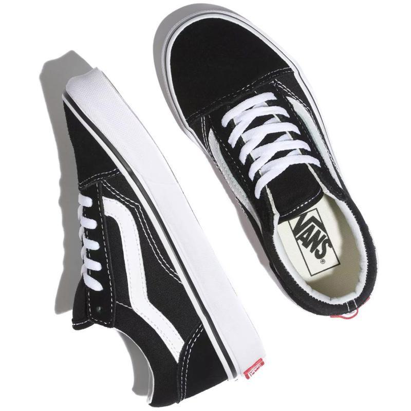 Vans Kids Old Skool Skate Shoes - Black