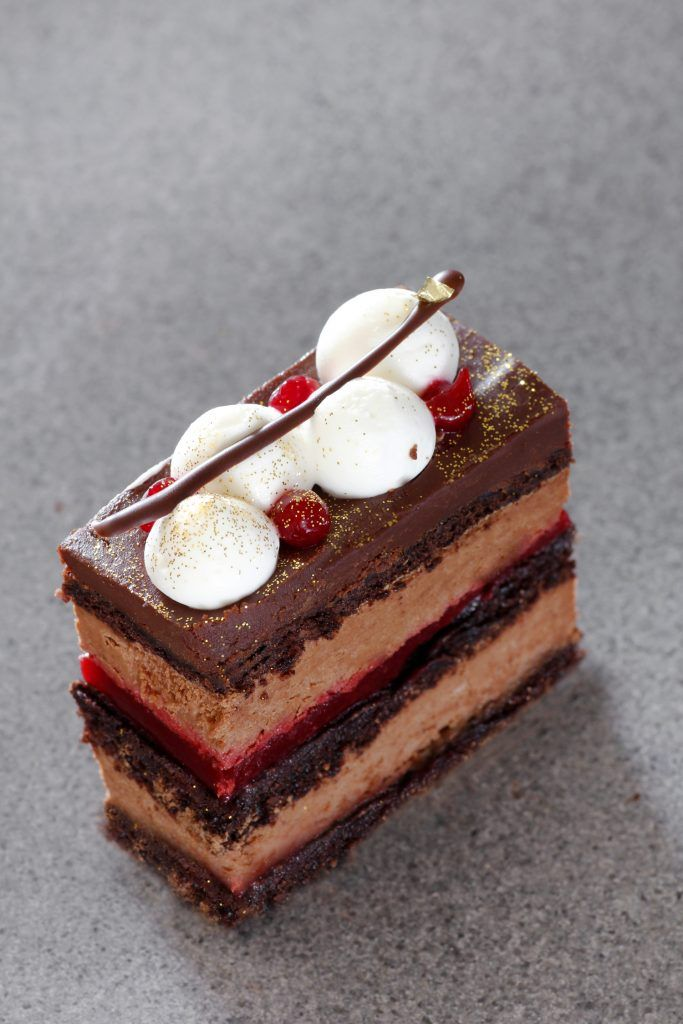 Chocolate Raspberry Entremet   Recipe in 2020   Chocolate raspberry cake. Cake recipes. Chocolate raspberry