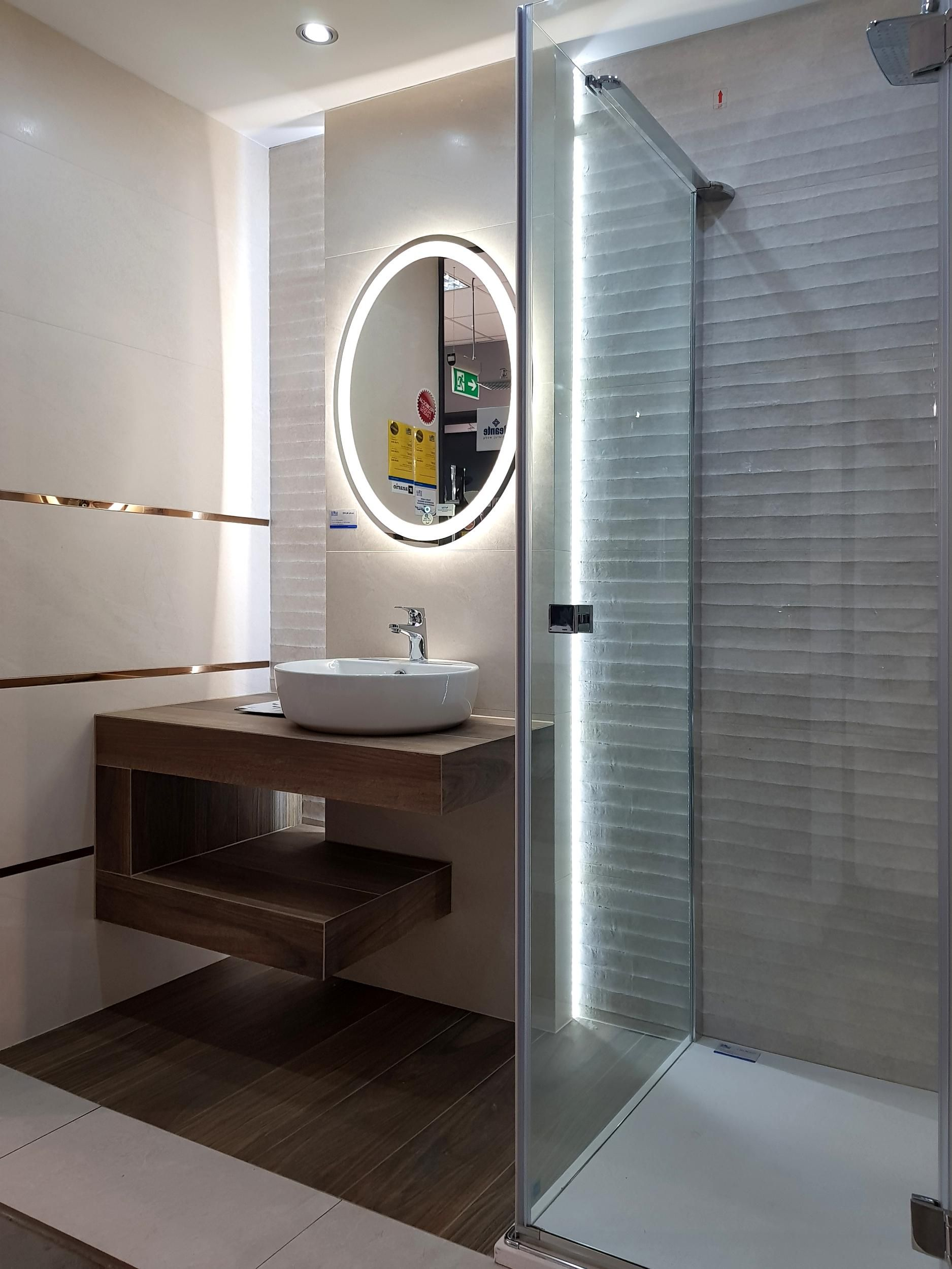 Elegancka Mala Lazienka Azario Inspiracje Bathroom Lighting